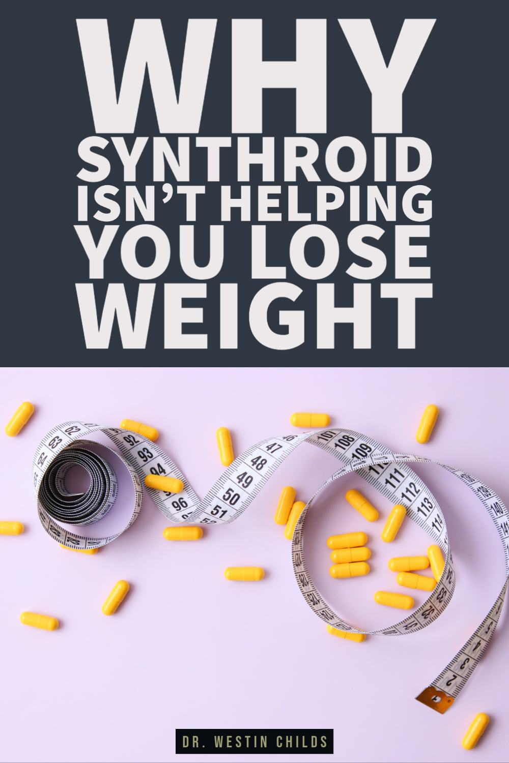 reasons why you aren't losing weight on synthroid