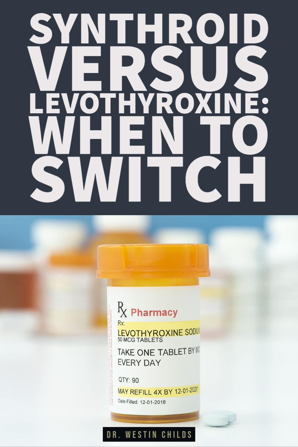 when to make the switch from levothyroxine to synthroid