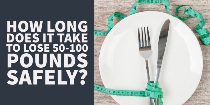 how long does it take to lose weight safely